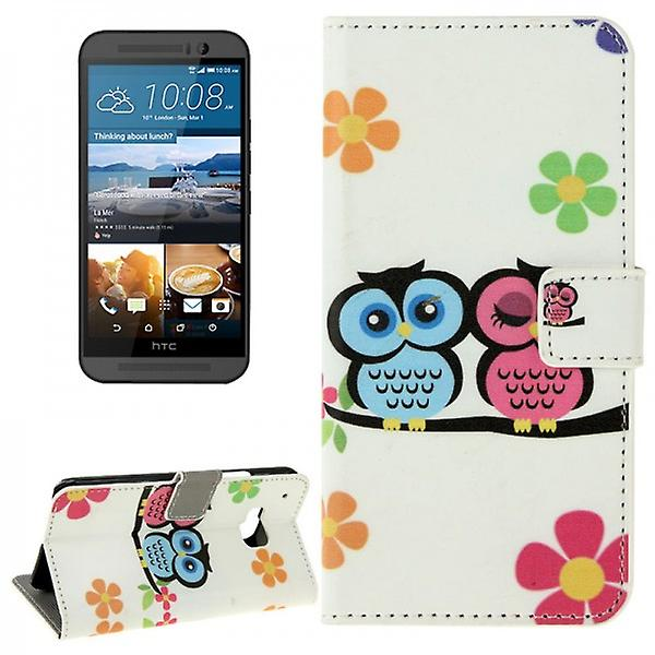 Cover wallet pattern 72 for HTC one 3 M9 2015