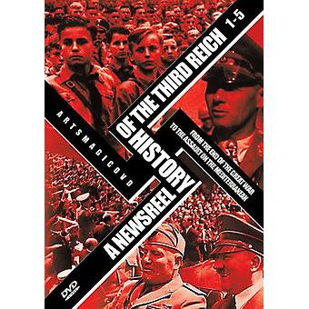 A Newsreel History of the Third Reich: Vol. 1-5 [5 Discs] [DVD] USA import