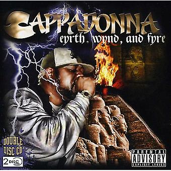Cappadonna - Eyrth Wynd & Fyre [CD] USA import