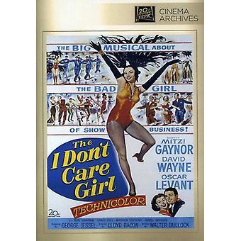 I Don't Care Girl [DVD] USA import