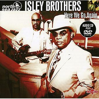 Isley Brothers - Here We Go Again [CD] USA import