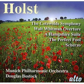 G. Holst - Holst: Cotswolds symfoni; Walt Whitman Overture; en Hampshire Suite [CD] USA import