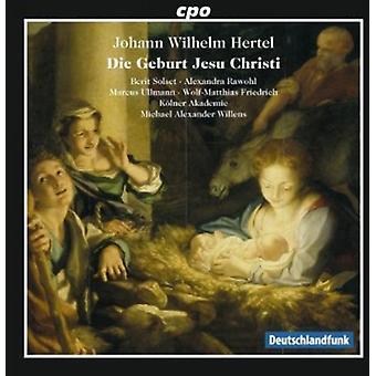 Hertel - Hertel: Die Geburt Jesu Christi [CD] USA import