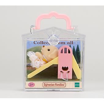 Sylvanian Families Dog on Slide Baby Carry Case