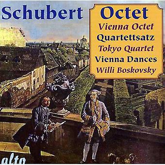 Vienna oktett - Schubert: Oktett Quartettsatz Wien [CD] USA import