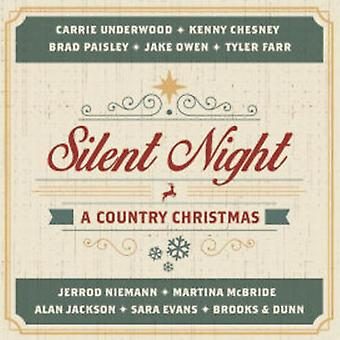 Various Artist - Silent Night: A Country Christmas [CD] USA import