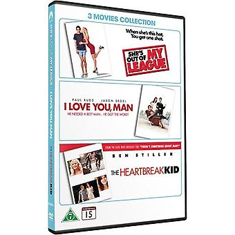 3 filmer Collection (3 DVD)