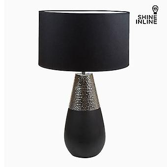 Bigbuy Silver table lamp by Shine Inline (Lighting , Interior Lighting , Table lamps)