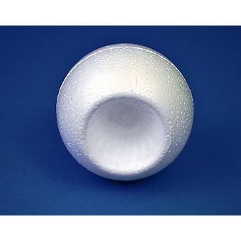 8cm Polystyrene Aperture Christmas Bauble to Decorate