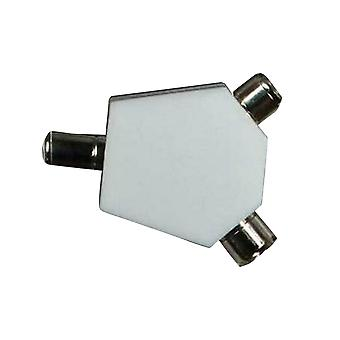 Maxview TV/FM Coaxial Y Angled Splitter