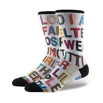 Houding Love Letters Crew sokken