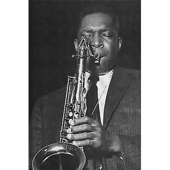 John Coltrane Poster Print von Ted Williams (12 x 19)