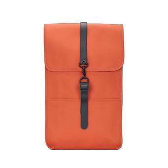 RAINS backpack rust waterproof backpack daypack Orange