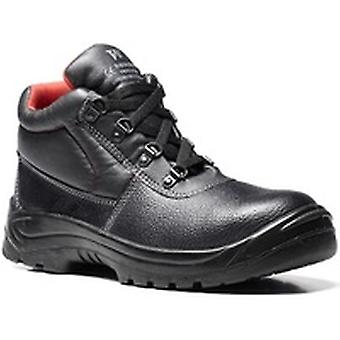 V12 V6471 Elk Black Grained 4 D-Ring Boot EN20345:2011-S1P Size 9