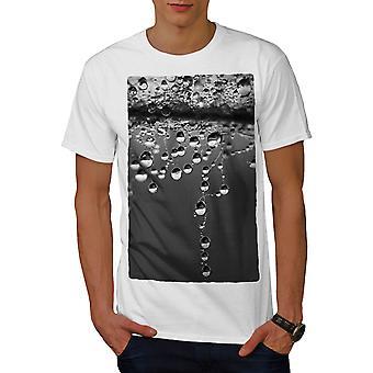 Drop Wild Novelty Men WhiteT-shirt   Wellcoda