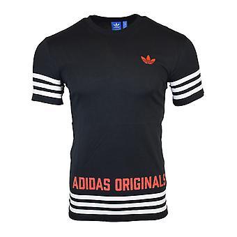 Adidas Originals Mens Black Street GRP t-shirt AZ1141