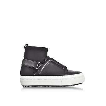 Pierre Hardy women's NS02BLACK black other material Hi Top sneakers