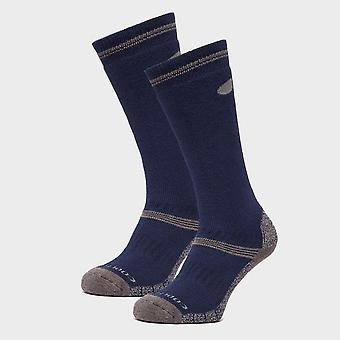 Peter Storm Men's Midweight Knee Length Hiking Socks