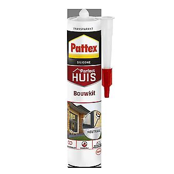 Pattex Perfect huis bouwkit sil transparant 300 ml