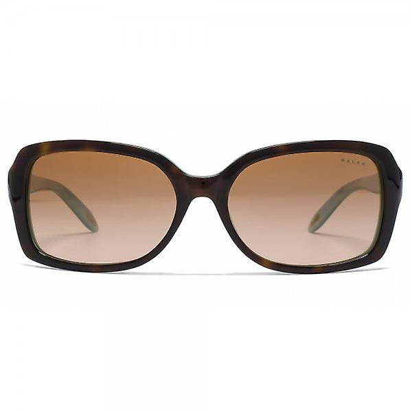 Ralph By Ralph Lauren Essential Square Sunglasses In Light Tortoise And Turquoise