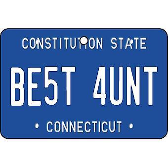 Connecticut - bästa moster licens plattan bil luftfräschare