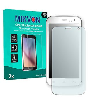 Mobistel Cynus F4 Screen Protector - Mikvon Clear (Retail Package with accessories)