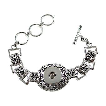 Stainless Steel Bracelet For Click Buttons Kb0190