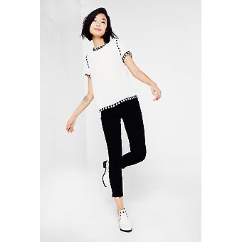 Articles Of Society Black Skinny Cropped Jeans