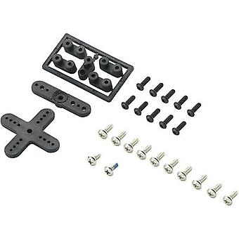 Plastic lever set Modelcraft Compatible with: Futaba
