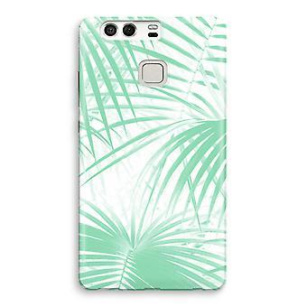 Impresión completo Huawei P9 del caso - hojas de la palma