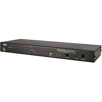 8 ports KVM changeover switch VGA USB, PS/2 2048 x 1536 pix