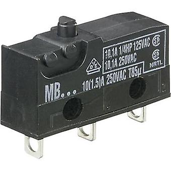 Microswitch 250 V AC 10 A 1 x On/(On) Hartmann MBF