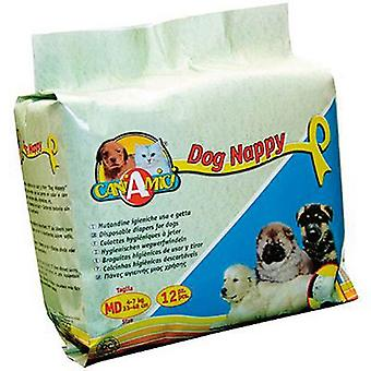 Nayeco Sanitary pads Nappy throwaway Dog Size L (Dogs , Training Aids , Behaviour)