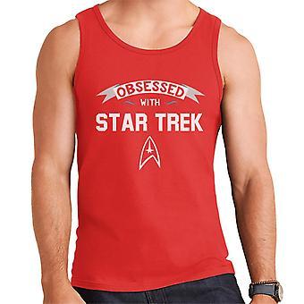 Obsessed With Star Trek Men's Vest
