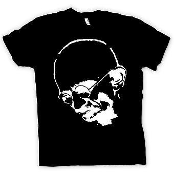 Dla dzieci T-shirt - Gandhi - Hinduska - Hippy - Pokój