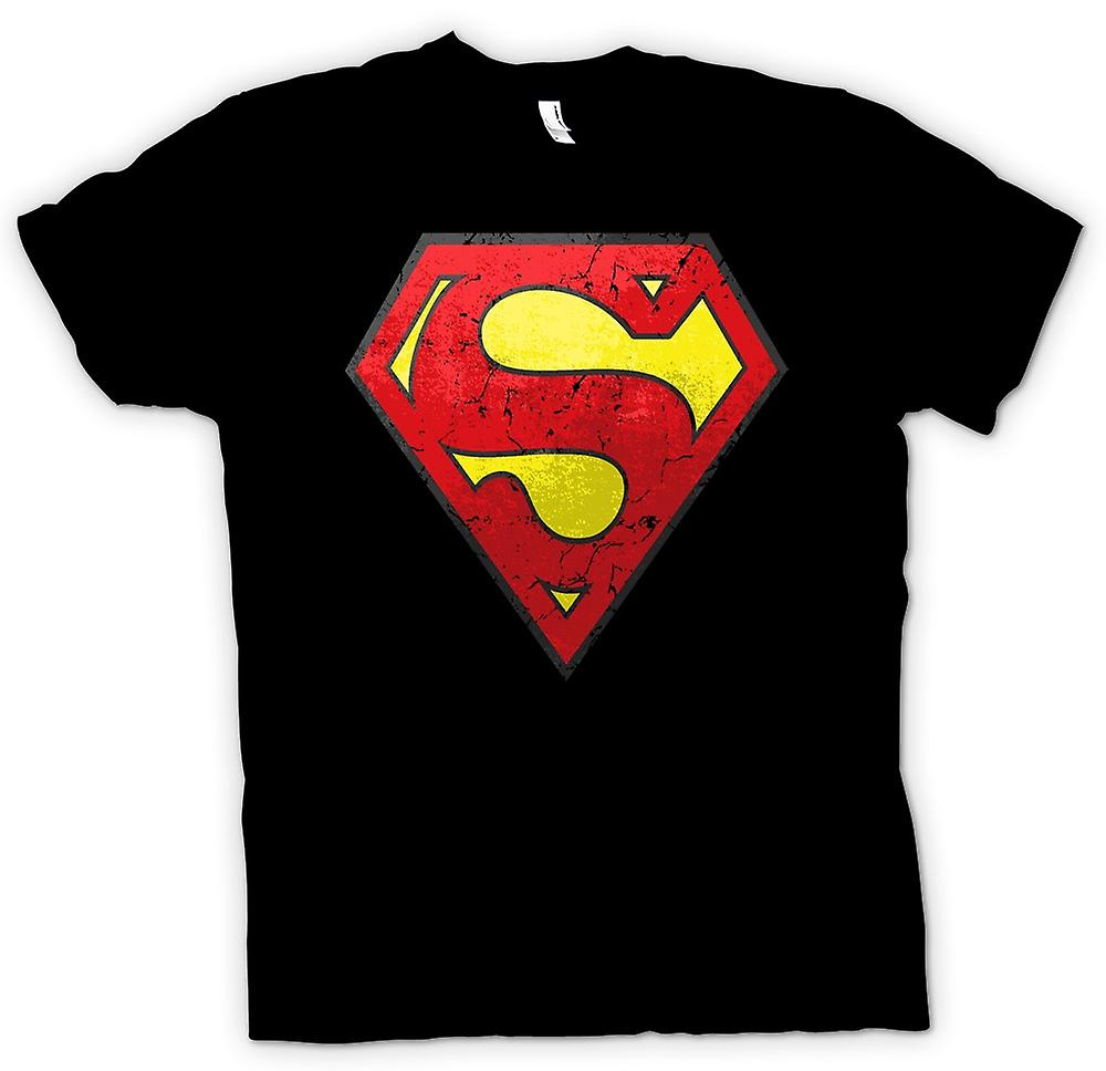 Kids T-shirt - Superman Distressed Logo - Cool