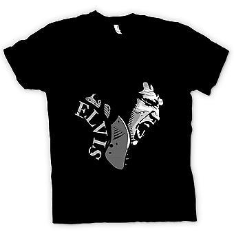 Mens t-shirt - Elvis Presley canto - Cool