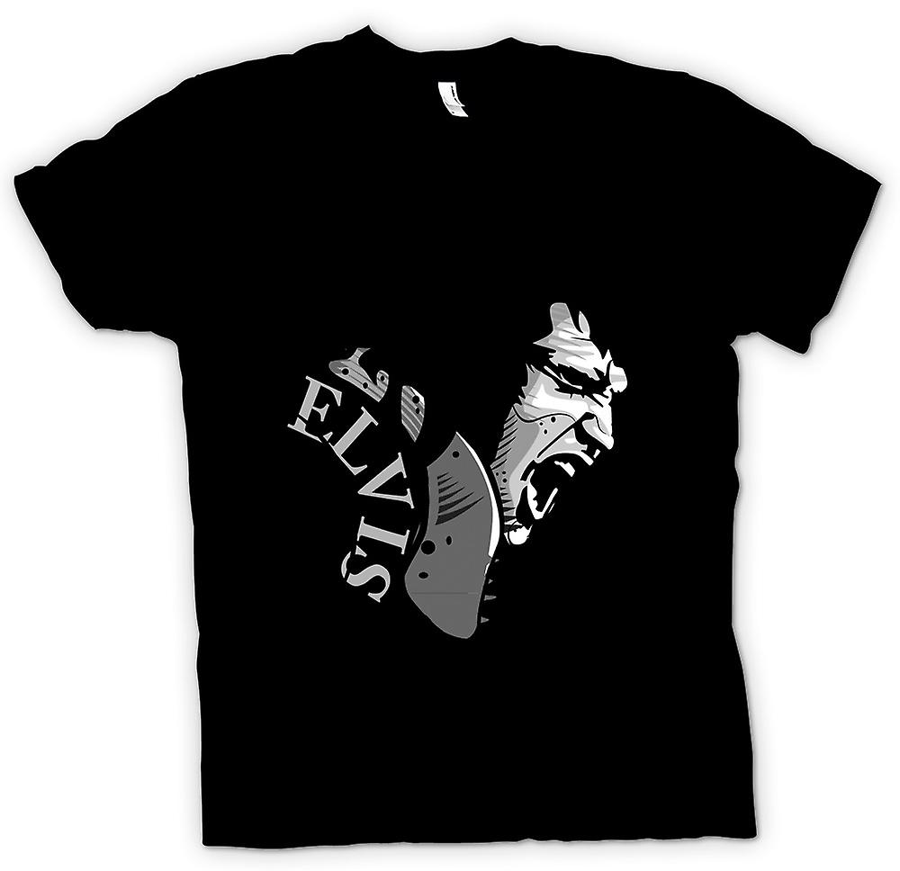 Mens t-shirt - Elvis Presley canto - Cool