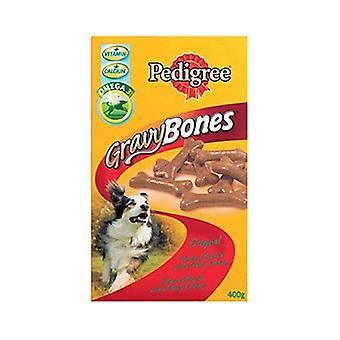 Pedigree Gravy Bones  Dog Treat Original 400g x 12 pack 4800g