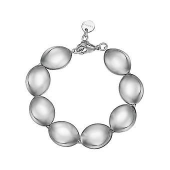 Esprit Damen Armband Edelstahl Silber Prominent ESBR11809A180