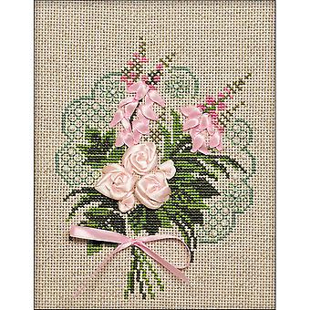 Bouquet Of Tenderness Counted Cross Stitch Kit-7