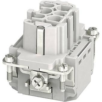 Socket inset HC-B 1407727 Phoenix Contact 6 + PE Plug & Clip 1 pc(s)