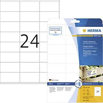 Herma 10905 Labels 70 x 36 mm Paper White