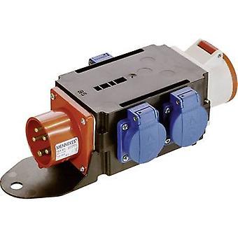 as - Schwabe CEE power distributor MIXO Adapter BRIGACH 60520 400 V 16 A