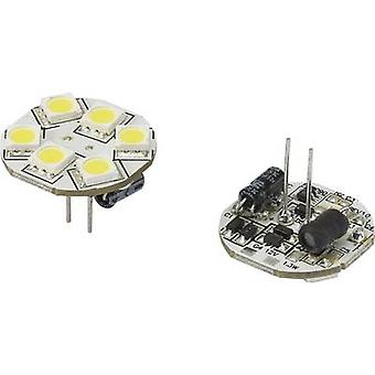 Renkforce LED (monokrom) G4 penn 1.3 W = 10 W Cool white (Ø x L) 23 x 23 mm 1 eller flere PCer
