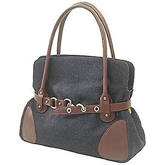 Harris Tweed Handbag R (HT-Navy)