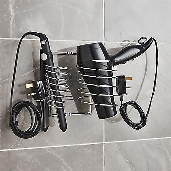 Hairdryer Holder Includes Straightener Holder And Cable Tidy