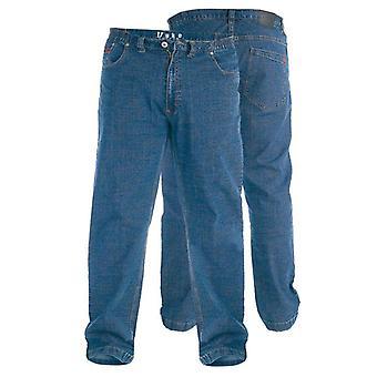 Duke Bailey Elasticated Waist Stretch Jeans
