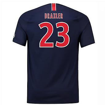 2018-2019 PSG Home Nike Football Shirt (Draxler 23) - Kids