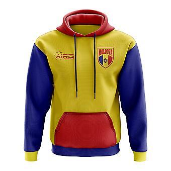 Moldavië Concept land voetbal Hoody (geel)